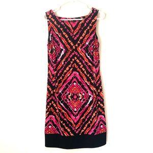 Ab studio print dress